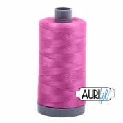 Aurifil 28 Cotton Thread - 2588 (Cerise Pink)